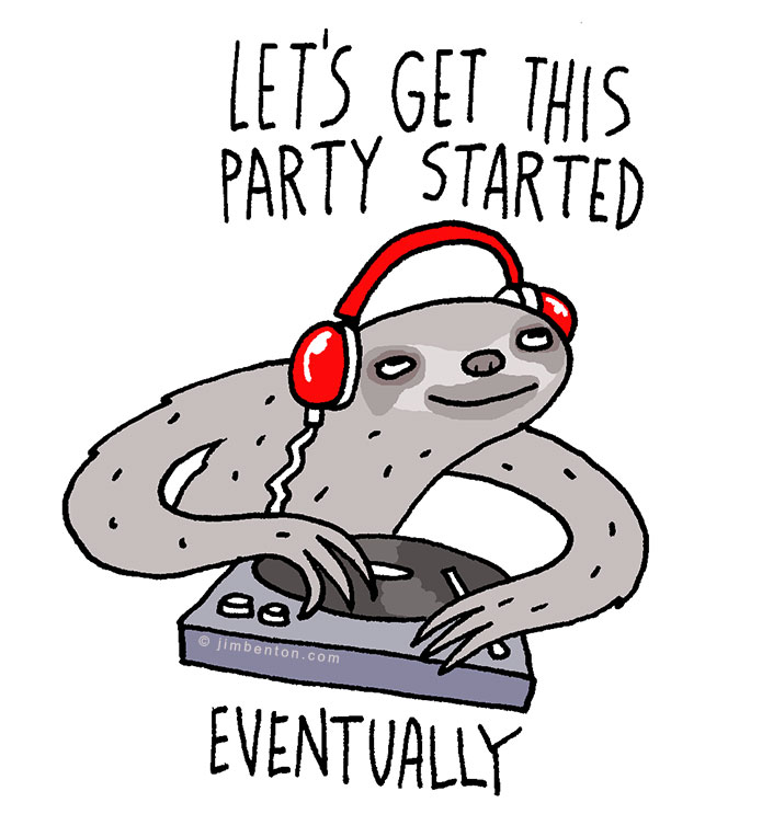 sloth-party