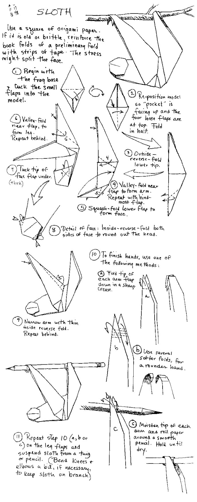 origami_sloth_instructions