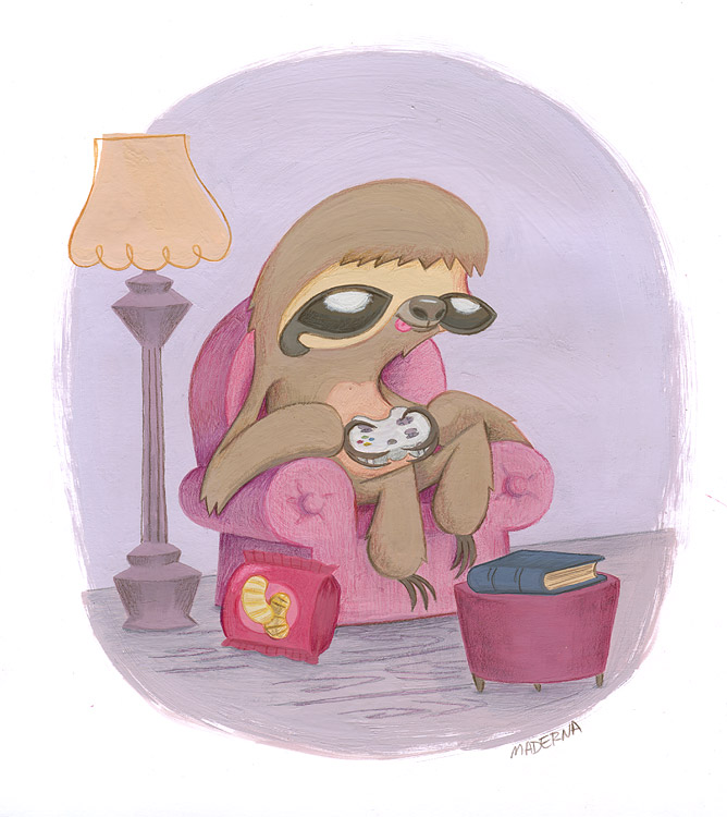 SlothGamer_illustration