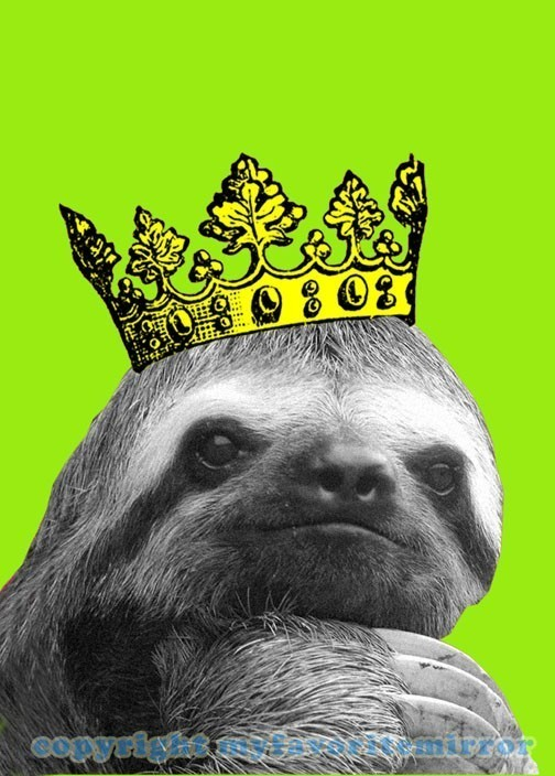 sloth crown