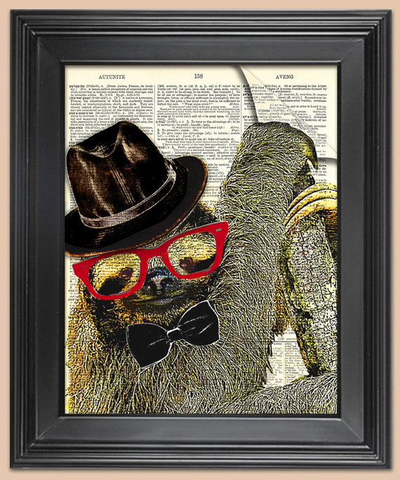 hipsterslothprint
